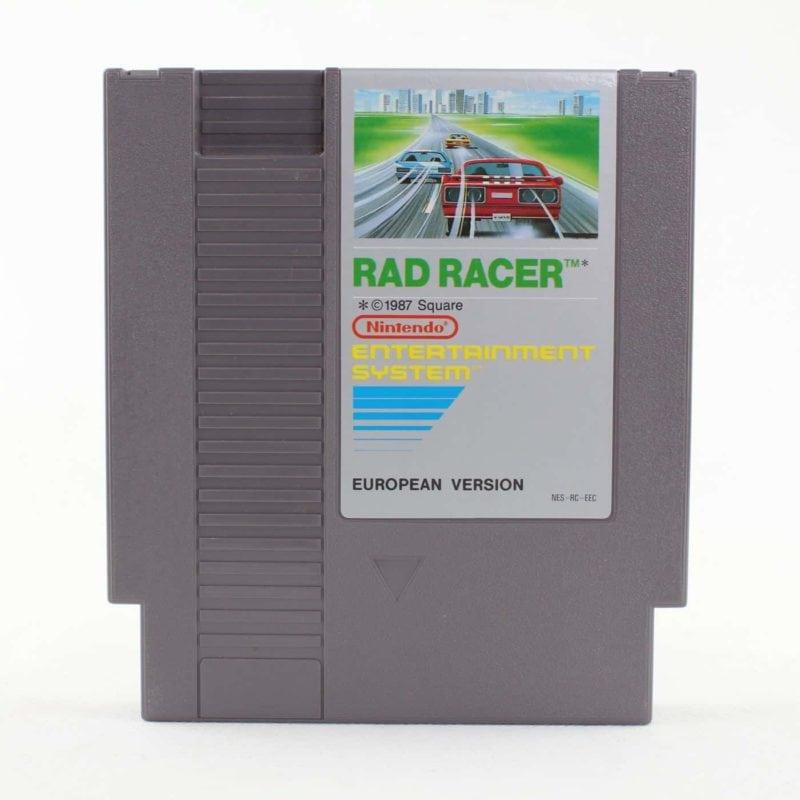 Rad Racer (Nintendo NES, PAL-B, SCN)