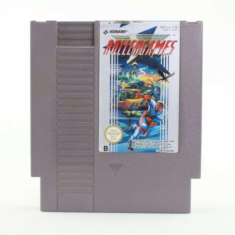 Rollergames (Nintendo NES, PAL-B, SCN)