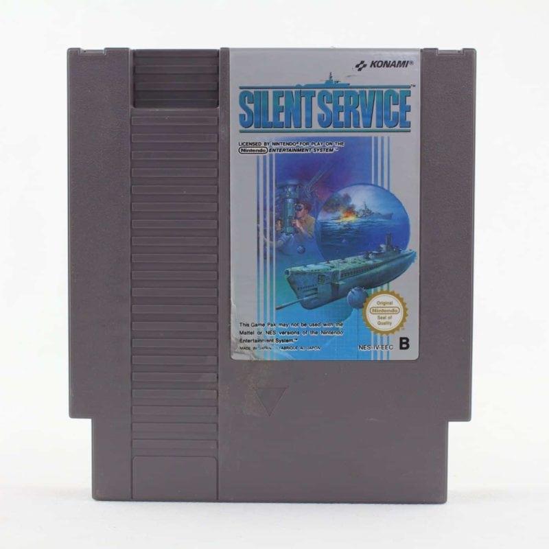 Silent Service (Nintendo NES, PAL-B, SCN)