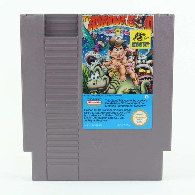 Adventure Island II (NES, PAL-B, SCN)