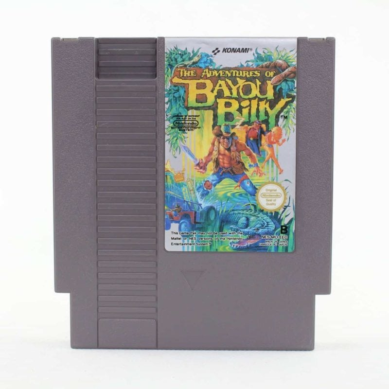 The Adventures of Bayou Billy (NES, PAL-B, SCN)