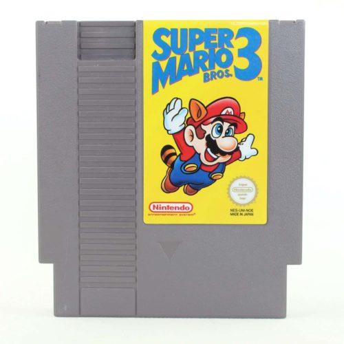 Super Mario Bros 3 (Nintendo NES, PAL-B)