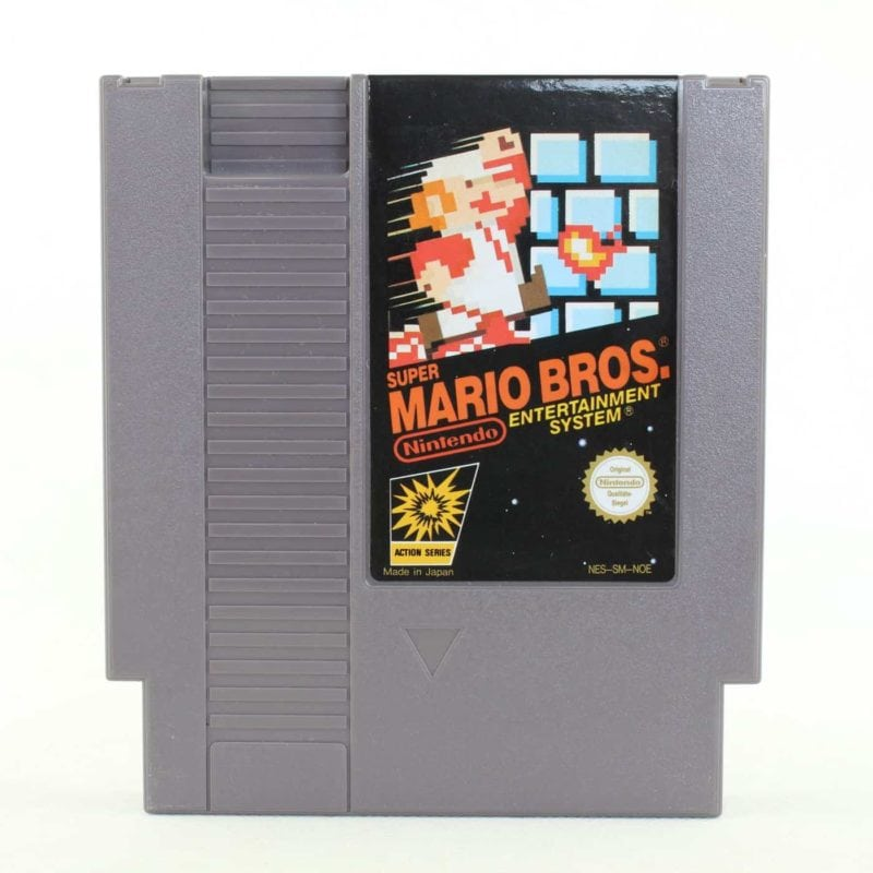Super Mario Bros. (Nintendo NES, PAL-B)