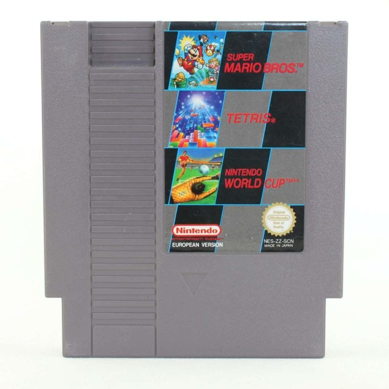 Super Mario Bros. / Tetris / Nintendo World Cup (NES, PAL-B, SCN)
