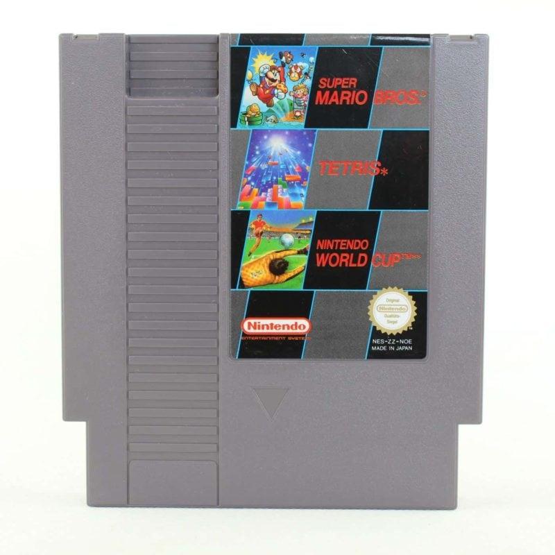 Super Mario Bros. / Tetris / Nintendo World Cup (NES, PAL-B)
