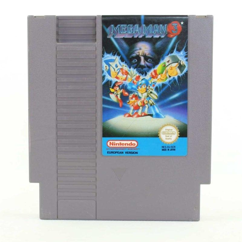 Mega Man 3 (Nintendo NES, PAL-B, SCN)