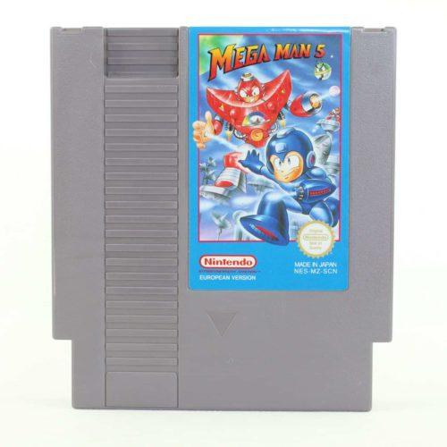 Mega Man 5 (Nintendo NES, PAL-B, SCN)