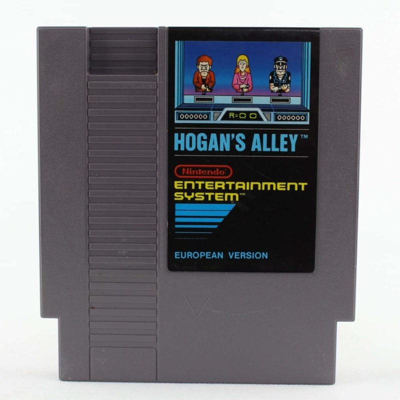 Hogan's Alley (Nintendo NES, PAL-B, EUR)