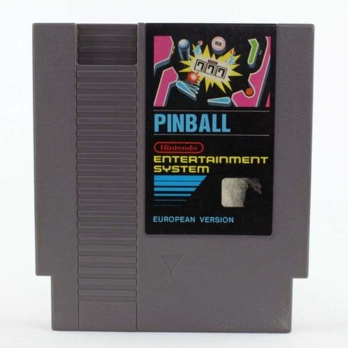 Pinball (Nintendo NES, PAL-B, SCN)