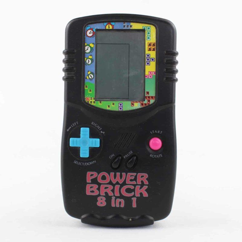 Power Brick 8 in 1 - håndholdt konsol - Bip Bip spil