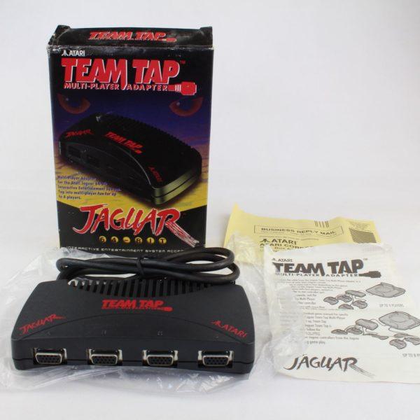 Atari Jaguar Team Tap Multi-Player Adapter (Boxed)
