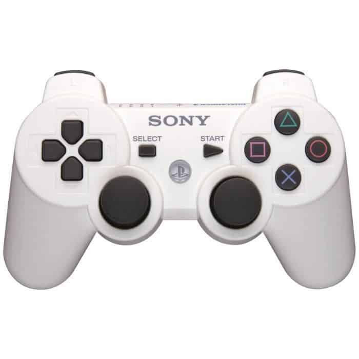 Sony DualShock 3 Sixaxis Controller - Trådløs - Hvid