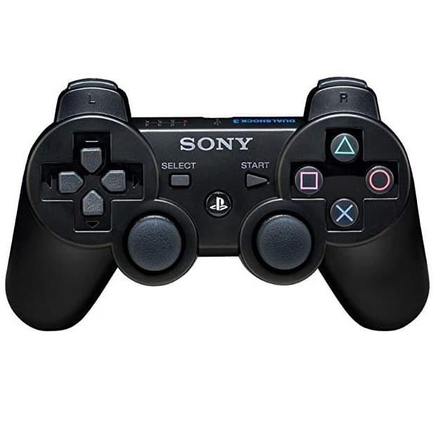 Sony DualShock 3 Sixaxis Controller til PS3 - Trådløs - Sort