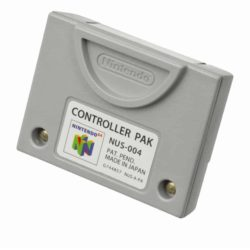 Nintendo 64 Controller Pak (Original NUS-004)