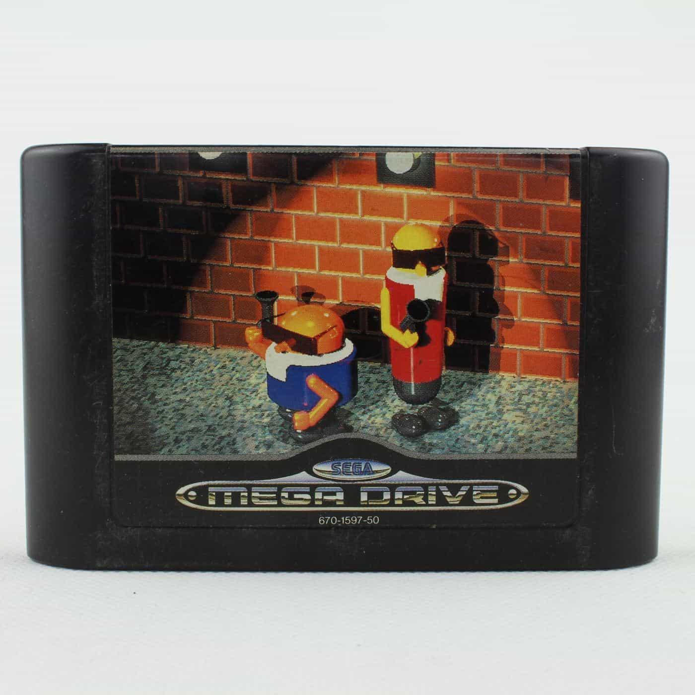 Bonanza Bros. (SEGA Mega Drive - Cartridge)