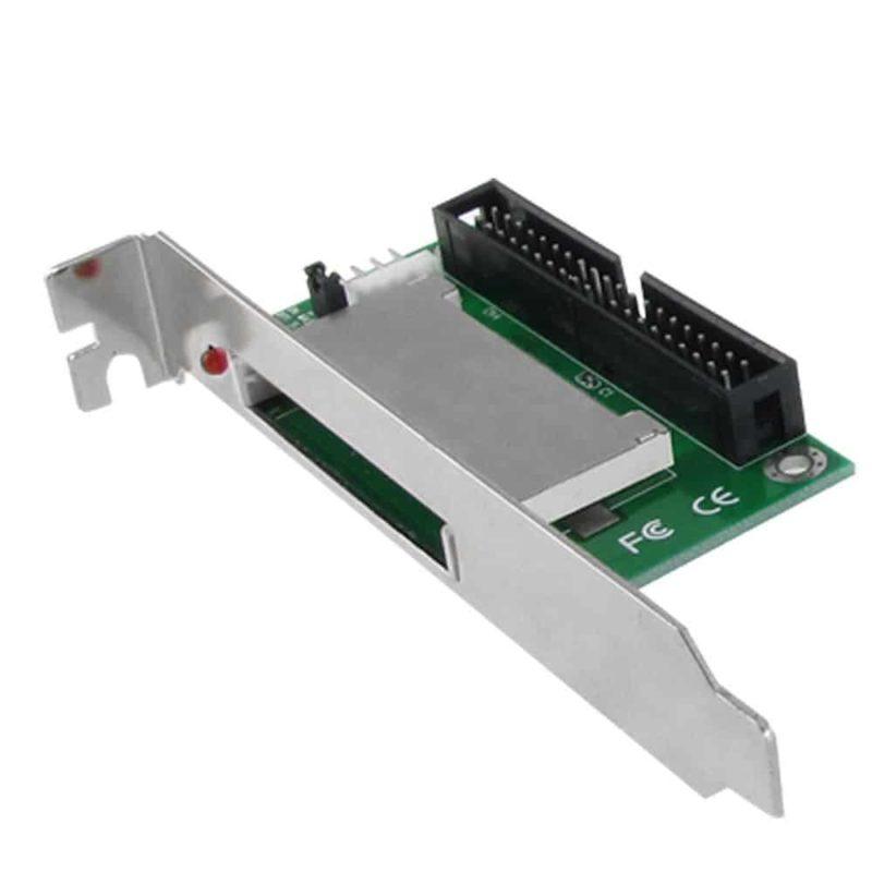 """CF til 3.5"""" 40-pin IDE Adapter med beslag (PC, Mac, Linux)"""