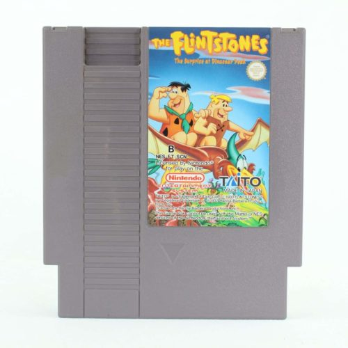 The Flintstones: The Surprise at Dinosaur Peak (Nintendo NES, SCN)