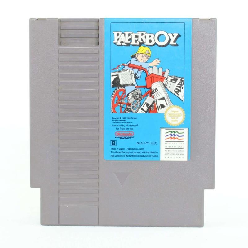 Paperboy (Nintendo NES, PAL-B, SCN)