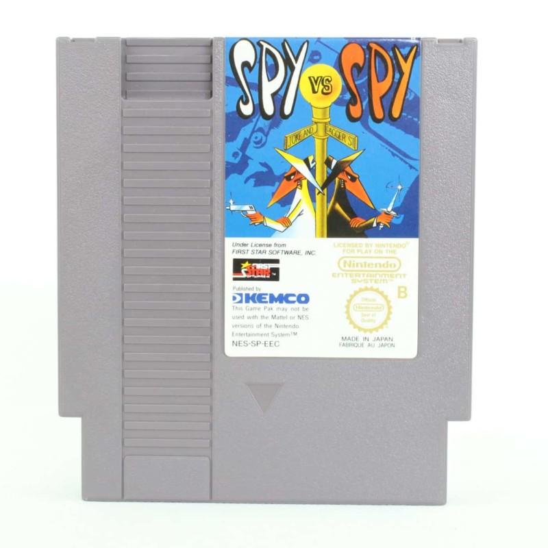 Spy vs Spy (Nintendo NES, PAL-B, SCN)
