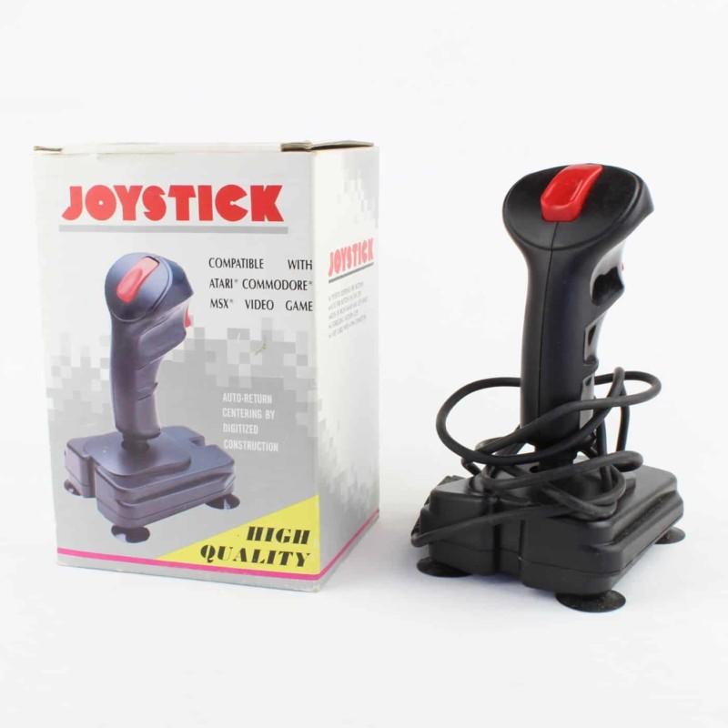 Joystick m. kasse (Atari, Commodore, MSX)
