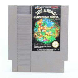 Joe & Mac: Caveman Ninja (Nintendo NES, PAL B, SCN)