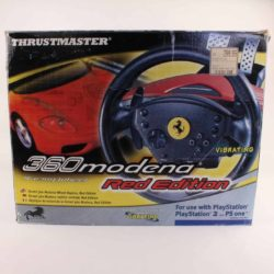 ThrustMaster Ferrari 360 Modena Racing Wheel (PS1 / PS2)