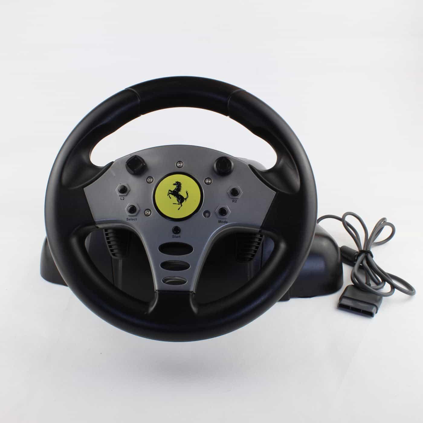 Guillemot Ferrari Steering Wheel (PS1 / PS2)