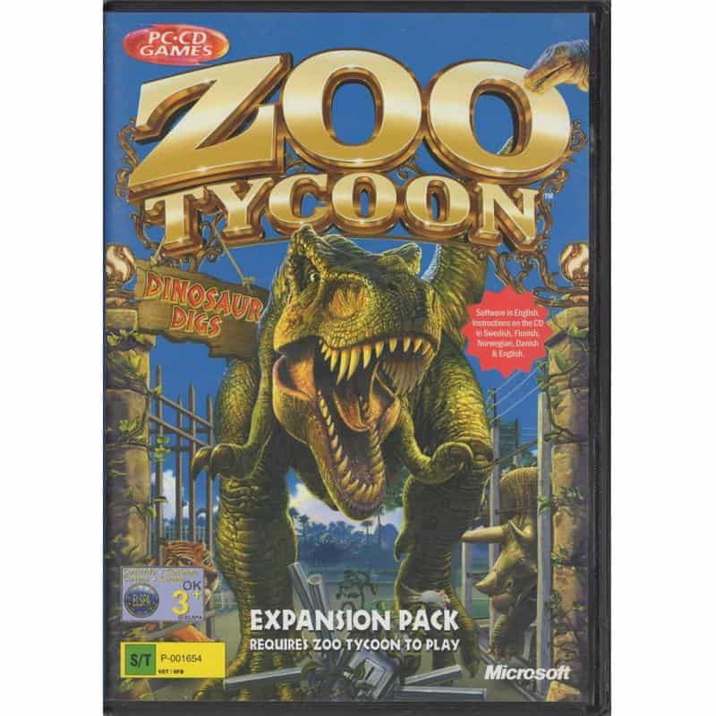 Zoo Tycoon: Dinosaur Digs (PC)