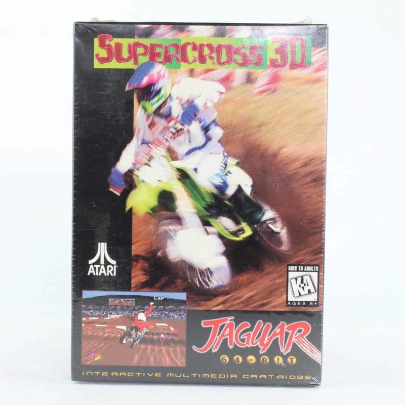 Supercross 3D (Atari Jaguar, Boxed, Sealed)