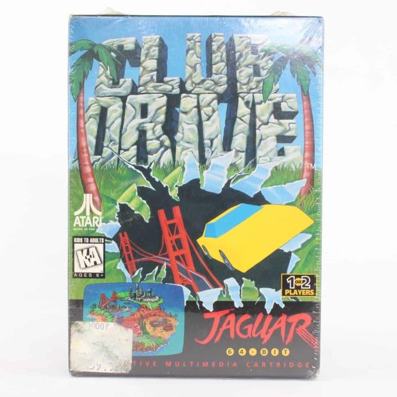 Club Drive (Atari Jaguar, Boxed, Sealed)
