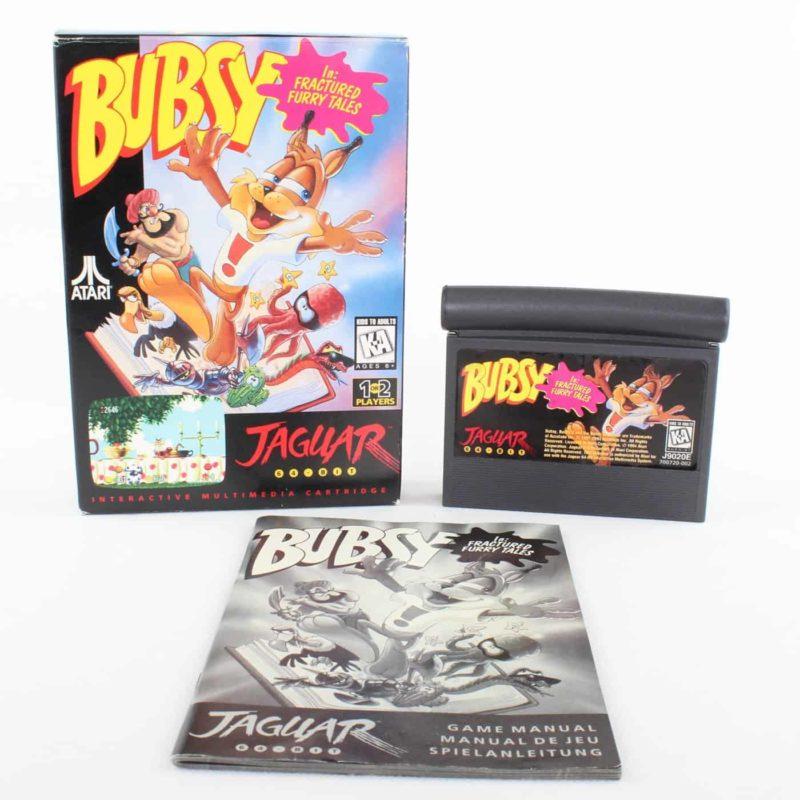 Bubsy In: Fractured Furry Tales (Atari Jaguar, Boxed)