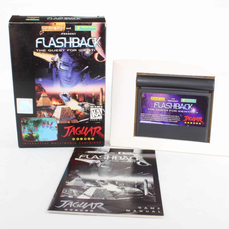 Flashback: The Quest for Identity (Atari Jaguar, Boxed)