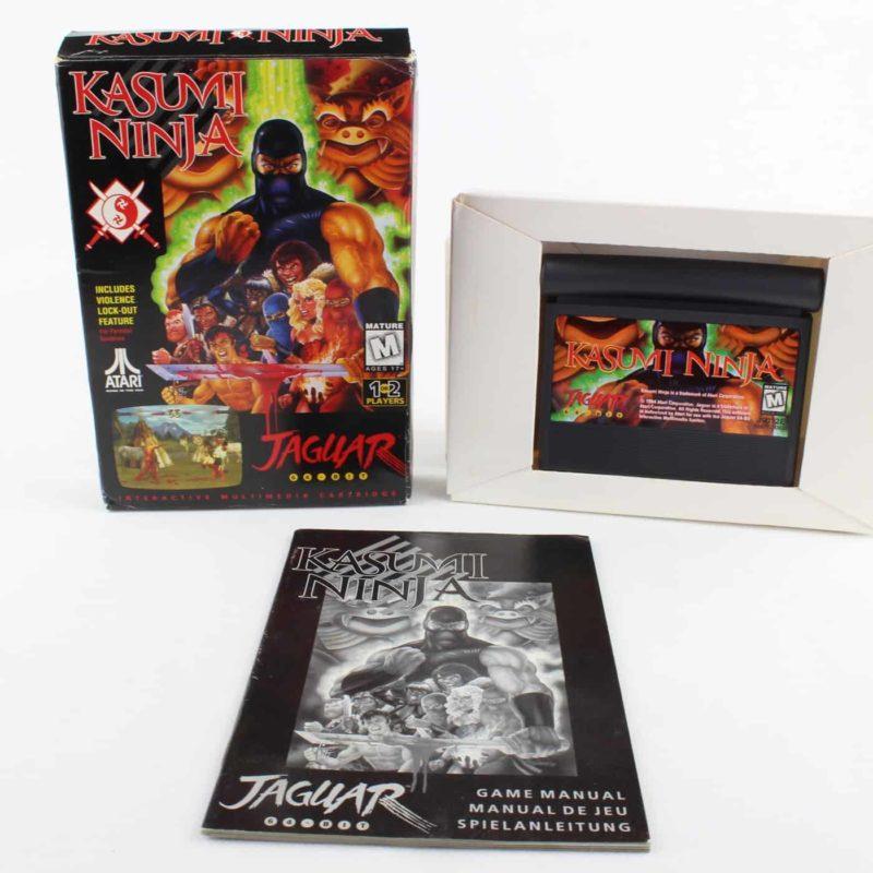 Kasumi Ninja (Atari Jaguar, Boxed)