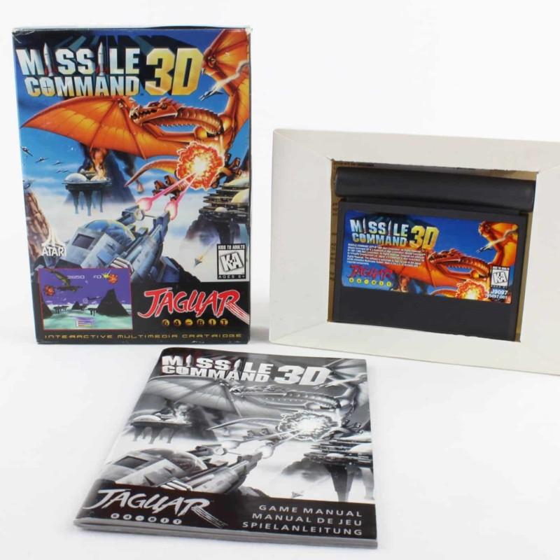 Missile Command 3D (Atari Jaguar, Boxed)