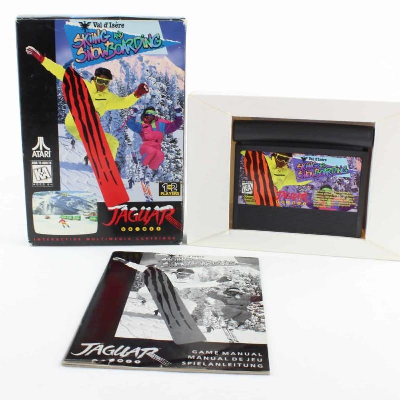 Val d'Isère Skiing and Snowboarding (Atari Jaguar, Boxed)