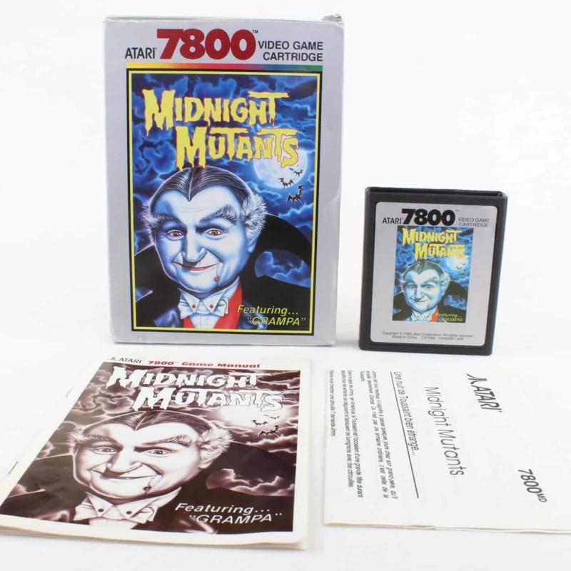 Midnight Mutants (Atari 7800, Boxed)