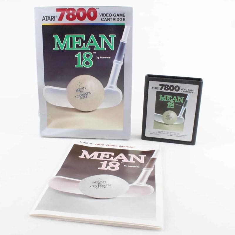 Mean 18 (Atari 7800, Boxed)