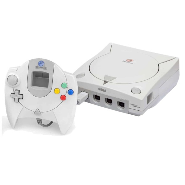 SEGA Dreamcast konsol m. 1 controller - Brugt Dreamcast konsol