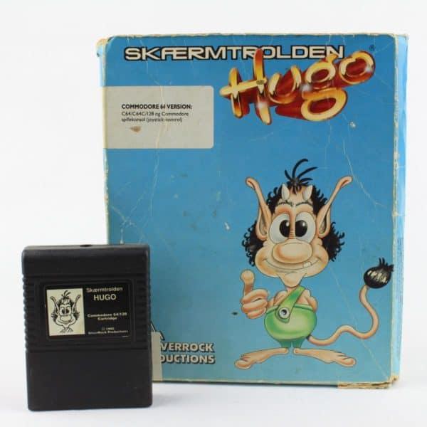 Skærmtrolden Hugo (C64, m. kasse)