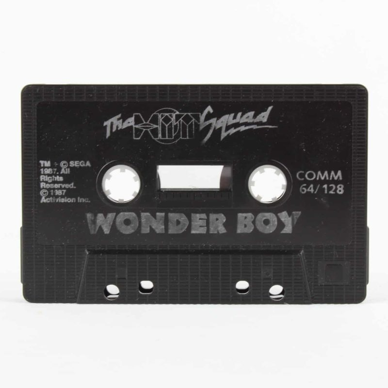 Wonder Boy til Commodore 64/128