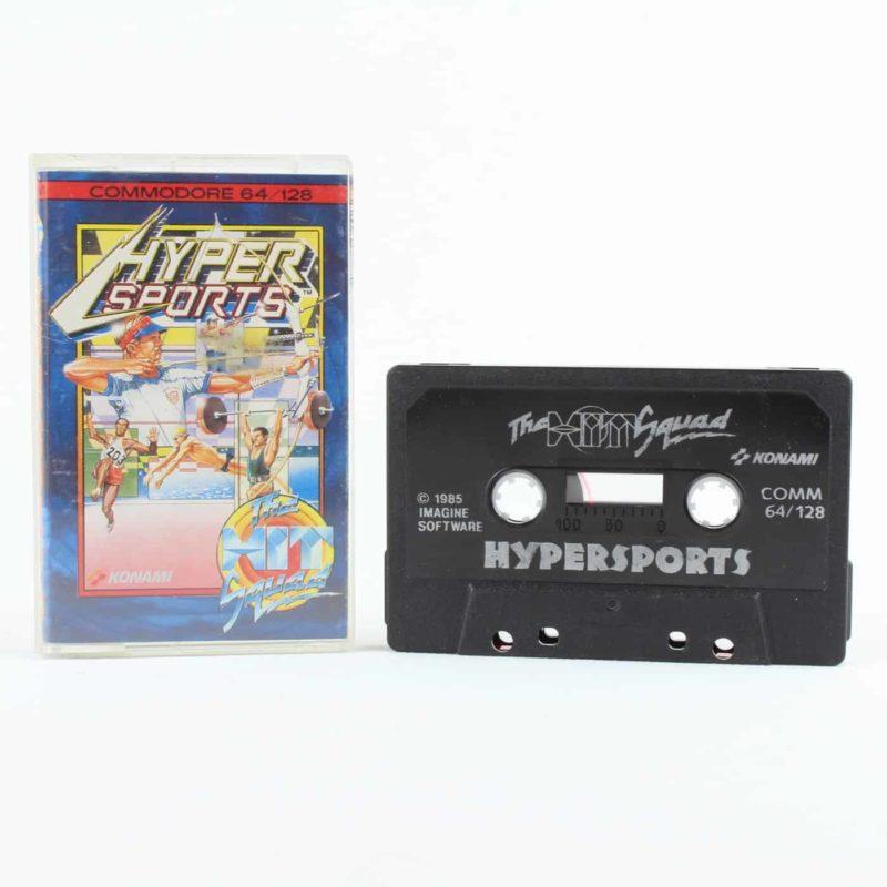 Hyper Sports (C64 Cassette)