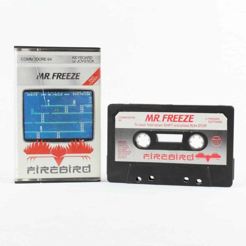 Mr. Freeze til Commodore 64/128