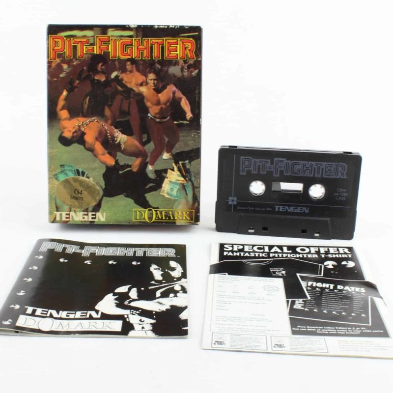 Pit-Fighter til Commodore 64/128