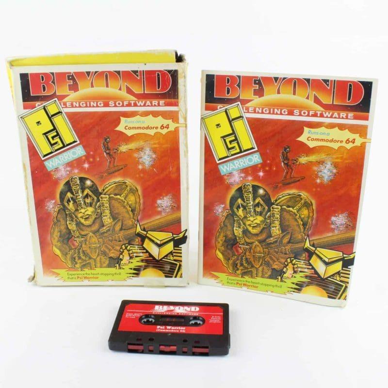 Psi Warrior til Commodore 64/128 (Kassettebånd)