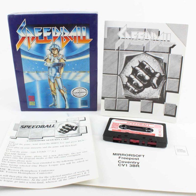 Speedball til Commodore 64/128 (Kassettebånd)