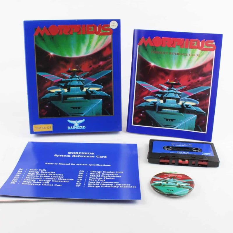 Morpheus til Commodore 64/128 (Kassettebånd)