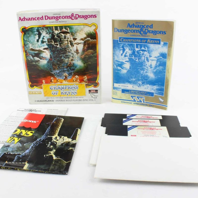 Champions of Krynn til Commodore 64 (Disk)