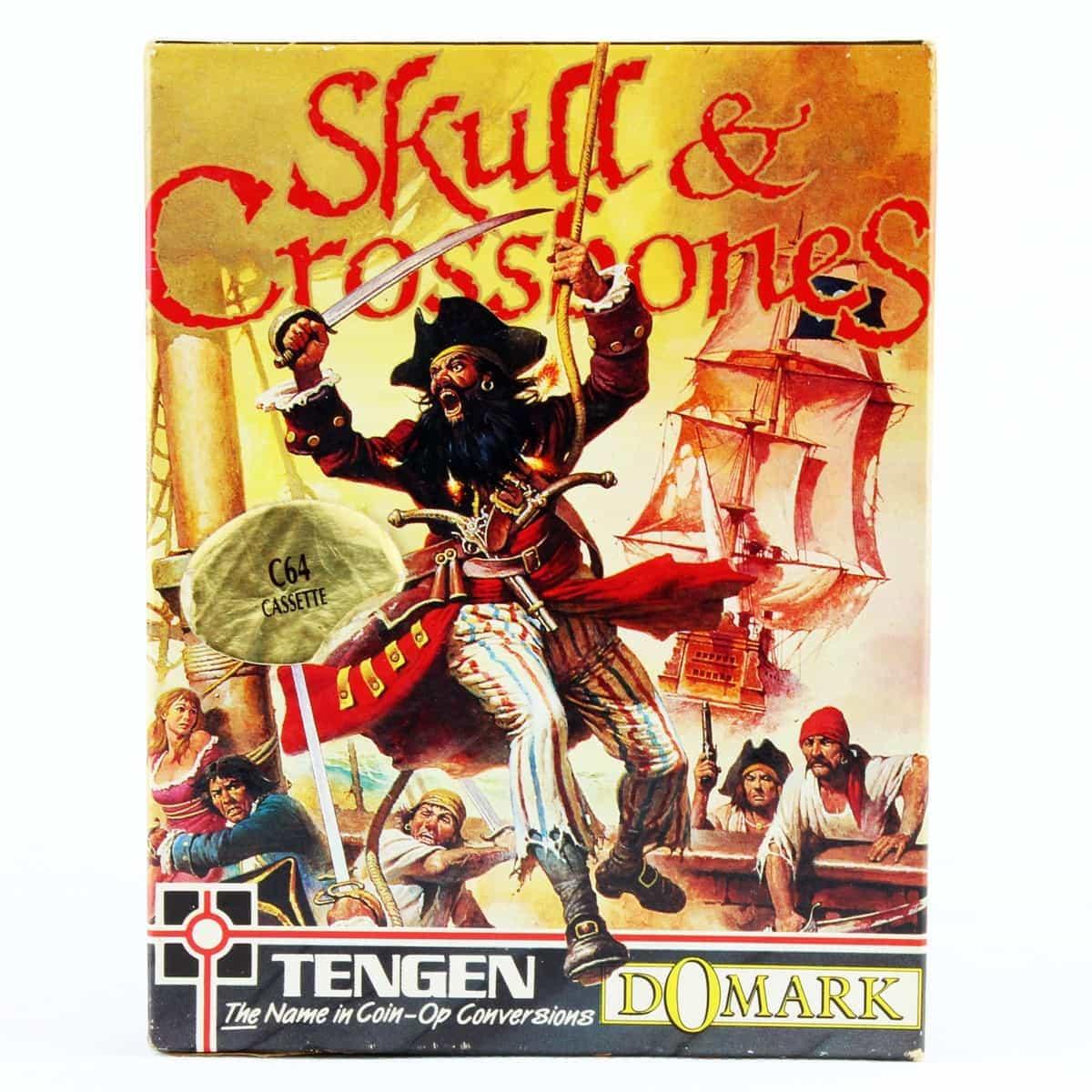 Skull & Crossbones (C64 Cassette)