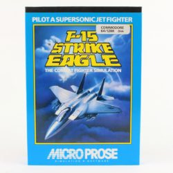 F-15 Strike Eagle til Commodore 64 (Disk)