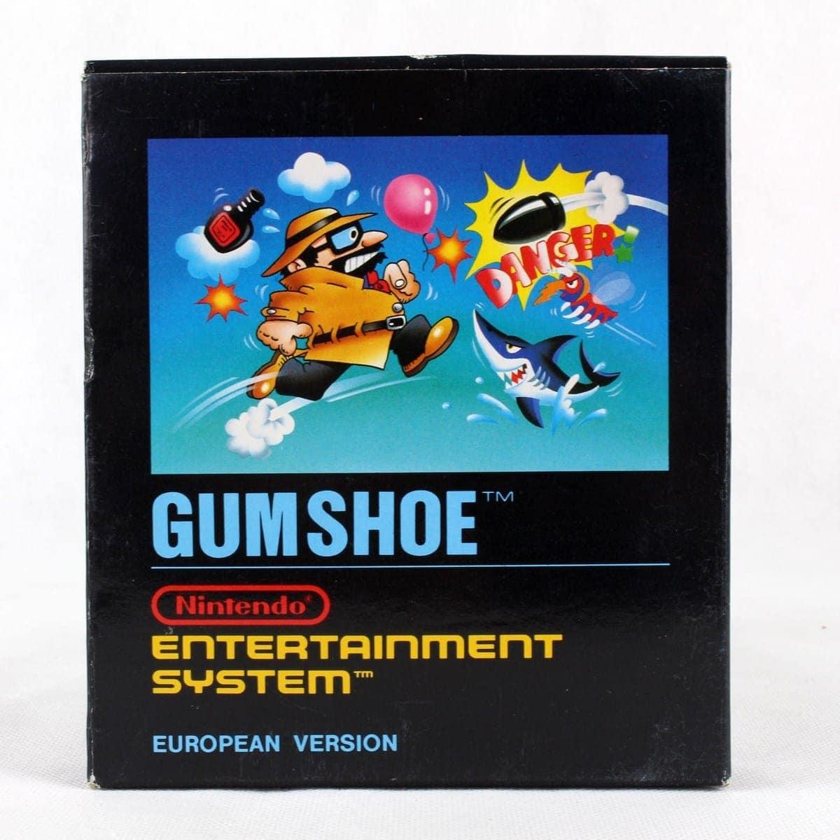 Gumshoe (Nintendo NES, Small Box, PAL-B, SCN)